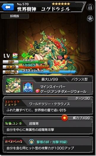 世界樹神ユグドラシル