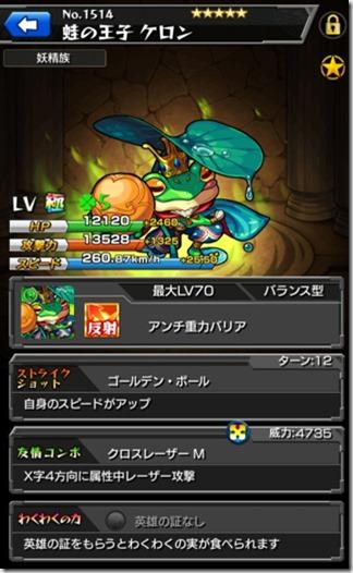 蛙の王子ケロン
